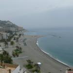 playa almuñecar cerca hostal andalucia